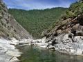 Bald Rock canyon: nádherný kaňon řeky Feather