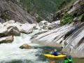 Bald Rock canyon: všichni spokojení ve vracáku