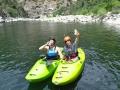 Bald Rock canyon: lodí nám přijela zásilka studeného piva