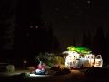 Bald Rock canyon: pozdní příjezd do kempu