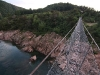 Buller river: NZ's longest swingbridge - 110 m