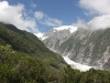 Franz Josef: looking towards the glacier