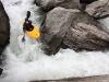 Nevis River: JKB na jedné z peřejí