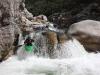 Lower Liamone: Míra stajluje drop v soutěsce