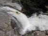 Upper Travo: Muska firing up perfect waterfall