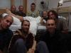 Nemocnice v Rjukanu: naše skupinka se smolařem Edou