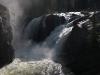 Morkedola: vodopád pod vysedáním
