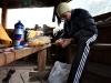 Futaleufu: Tomo připravuje bramborový salát