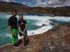 Rio Baker: peřej Confluence na soutoku s Neffem