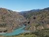 Rio Baker: pohled na konec třetího kaňonu