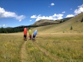 Krátká procházka na horní Chulyshman