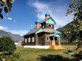 Kostel u cesty podél Chulyshmanu