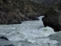 Argut: vpravo od Separatoru je metrový jazyk, ale je potřeba věřit. Alex nám ukazuje svou víru.