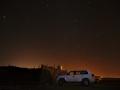 Ras al Hadd: noční obloha plná hvězd