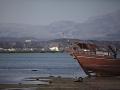Sur: odliv v přístavu