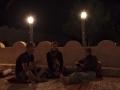 Wadiba sands: večerní kávička před první nocí v poušti