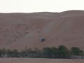 Wadiba sands: ráno sledujeme techniku jízdy na dunách