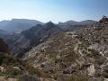Sayq Plateau: terasovitá políčka u vesnice Al Ayn