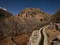 Wadi Bani Habib: falaj stále zásobuje políčka vodou