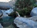 Wadi Damm: večerní koupání ve studené vodě