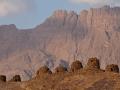 Hrobky ve tvaru úlů ve vesnici Al-Ayn