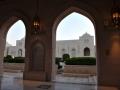 Muscat: velká mešita sultána Quaboose