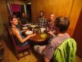 Štědrovečerní večeře s kamarády u Moma