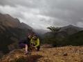 Holky na výšlapu u Coyhaique
