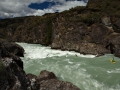 Kuba Suchý a Palo Andrassy v prvním kaňonu řeky Rio Baker